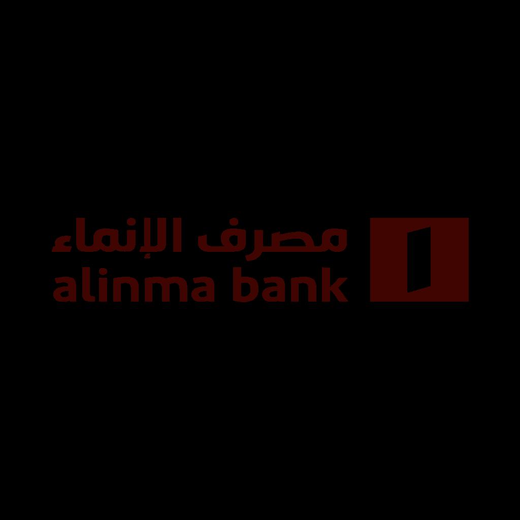 الرجل خلف شعار ثمانية / شعار مصرف الإنماء