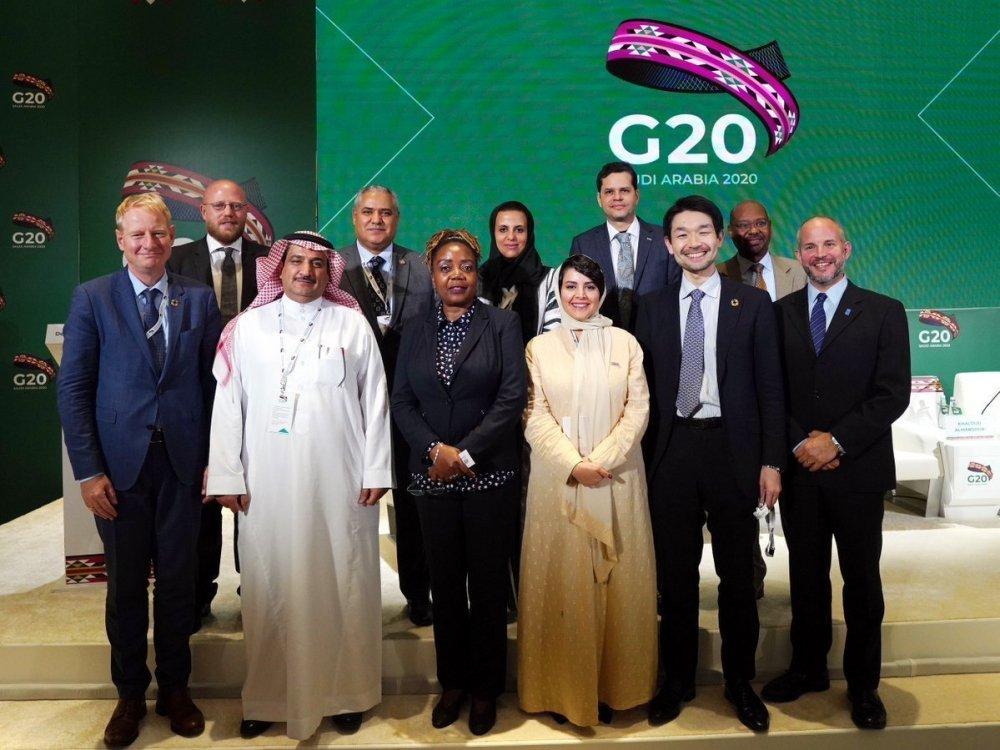 جتماعات مجموعة العشرين في السعودية