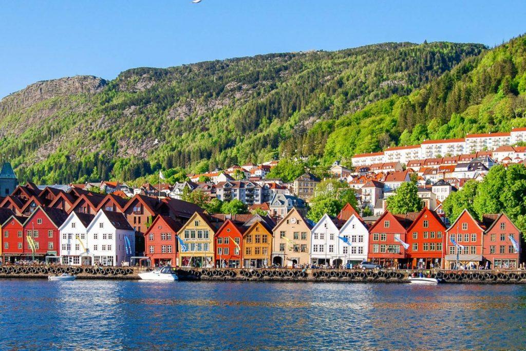 المنازل الريفية في النرويج