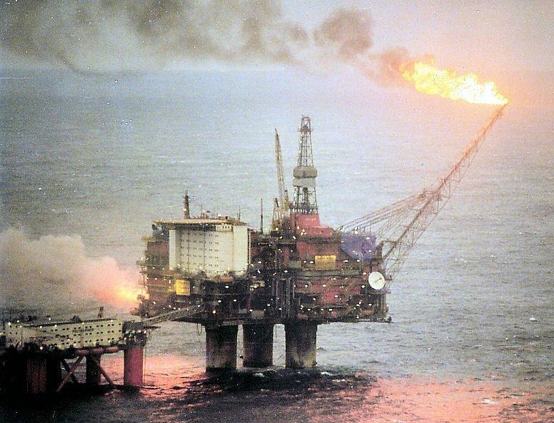 اكتشاف النفط في النرويج