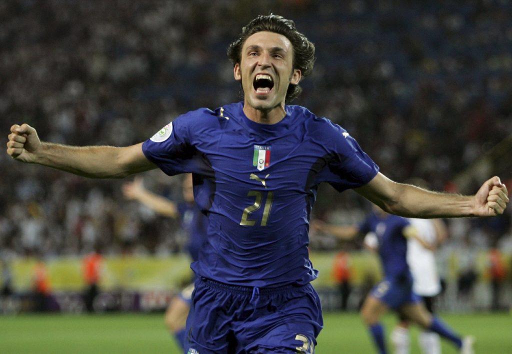 بيرلو يفوز بكأس العالم 2006